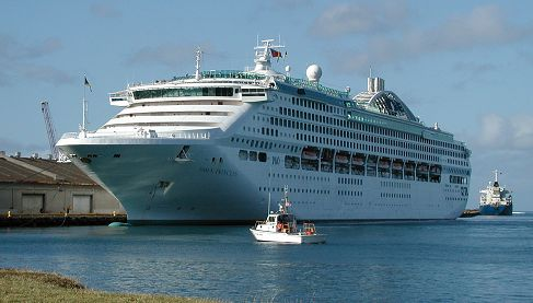 Dawn Princess Cruise Ship