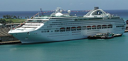 Princess Cruises - Cruise ship dawn