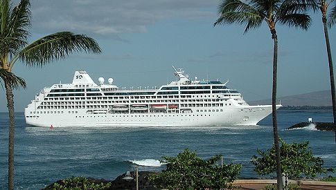 Princess Cruises - Cruise ship pacific